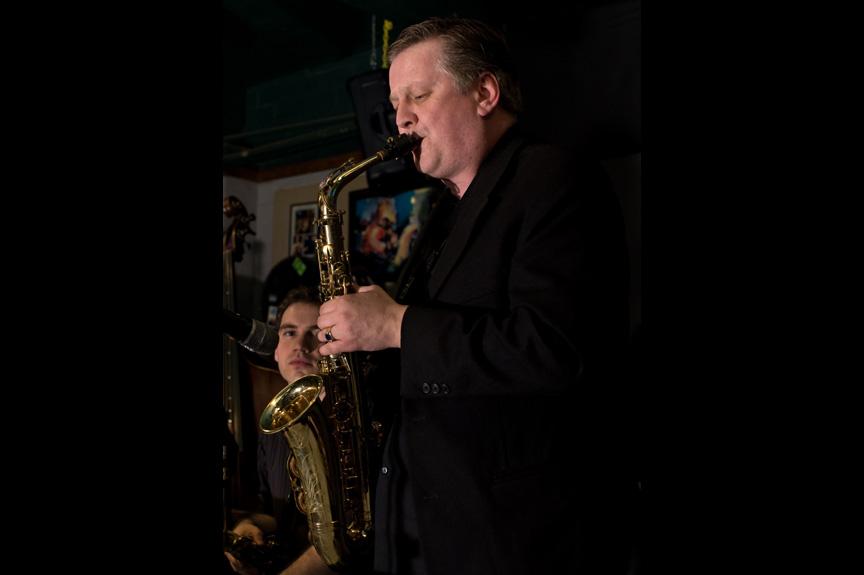 Jim Cutler - Man playing saxophone